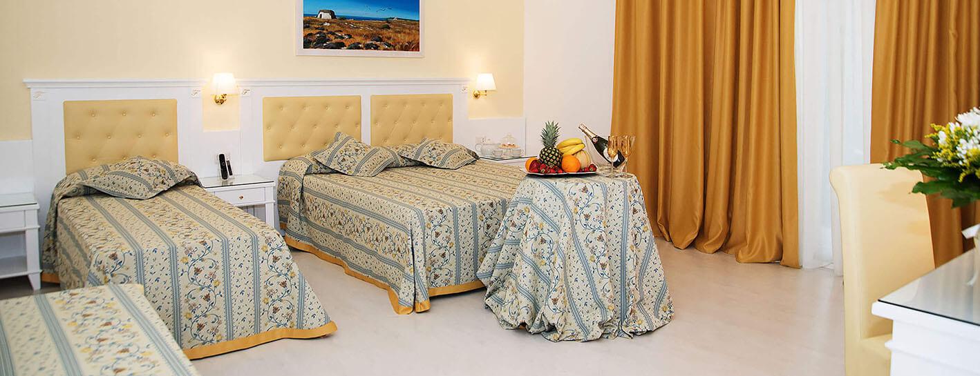 Falli rooms breakfast for Sognare asciugamani